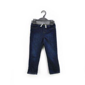 Girls Drawstring Denim Pants
