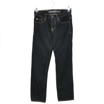 Boys Button Fly Slim Straight Denim Pants