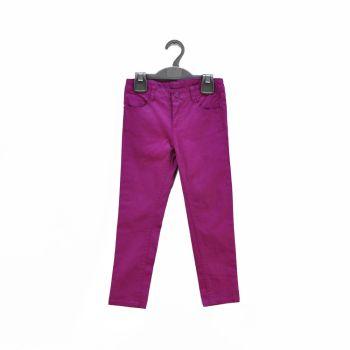Girls Purple Skinny Pants