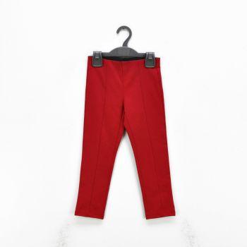 Girls Red Leggings Pants