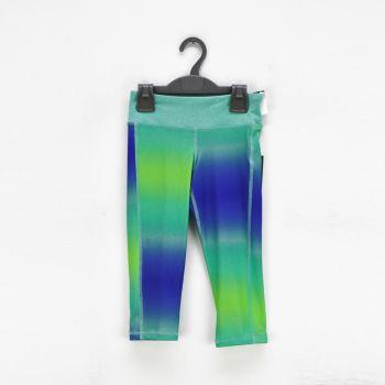 Girls Multi Color Printed Leggings