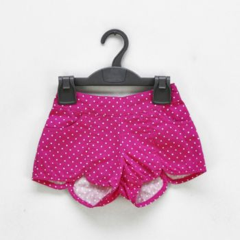 Girls Striped Shorts