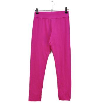 Girls Pink Cotton Pants