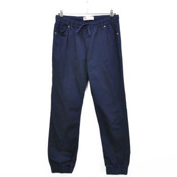 Girls Navy Jogger Pants
