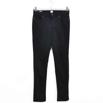 Girls Black Adjustable Waist Pants