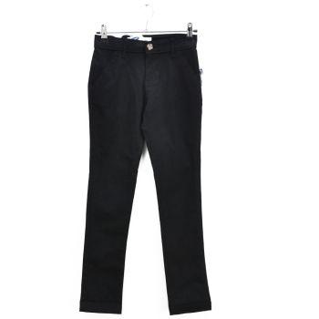 Girls Skinny Black Casual Pants