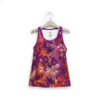 Girls Multi Color Printed Sleeveless T-Shirt