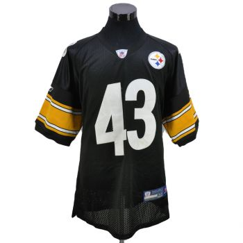 Reebok NFL Steelers Polamalu 43 Jersey Vintage