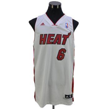 Miami Heat James 6 Jersey Vintage