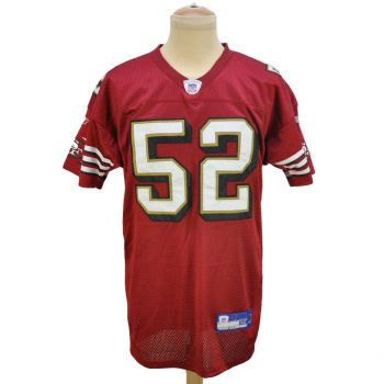 NFL Reebok San Francisco 49ers Willis 52 Jersey Vintage