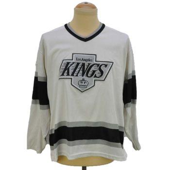 Los Angeles Kings White Hockey Jersey Vintage