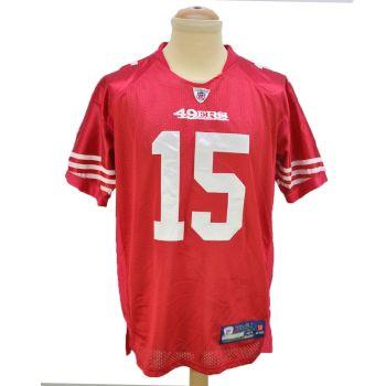 NFL San Francisco 49ers Crabtree 15 Vintage Jersey