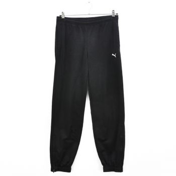Girls Black Puma Track Pants