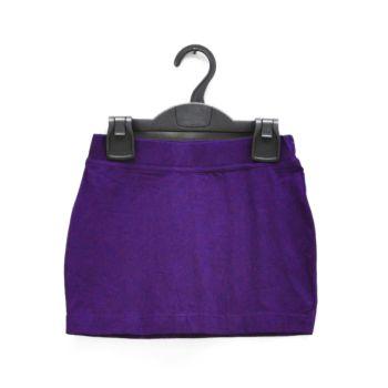 Girls Purple Mini Skirt