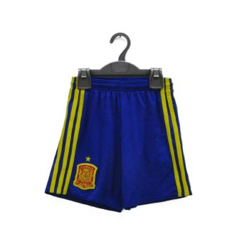 Boys Blue Yellow Striped Sports Shorts