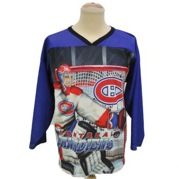 CCM Montreal Canadiens Ice Hockey Jersey Vintage Made In USA