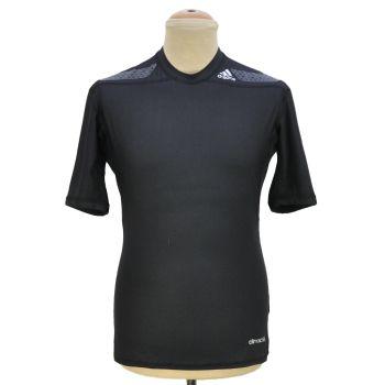Mens Compression Black Sports T-Shirt