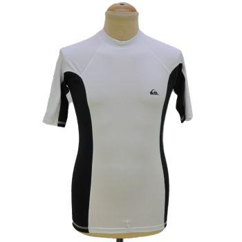 Mens Black & White Sports T-Shirt