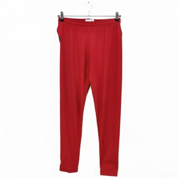 Girls Red Stretch Sports Pants