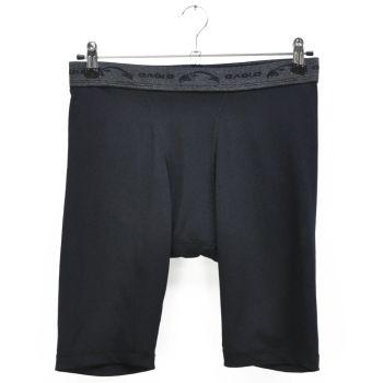 Mens Black Sports Tight Shorts