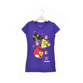Girls Angry Birds Graphic T-Shirt