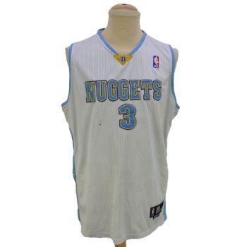 Vintage NBA Nuggets Iverson 3 Jersey