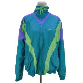 80's Vintage Nike Full Zip Windbreaker Jacket