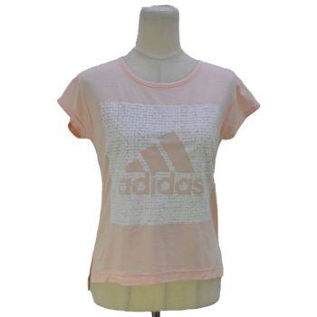 Girls Adidas Short Sleeve T-Shirt