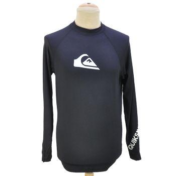 Mens Black Long Sleeve Sports T-Shirt