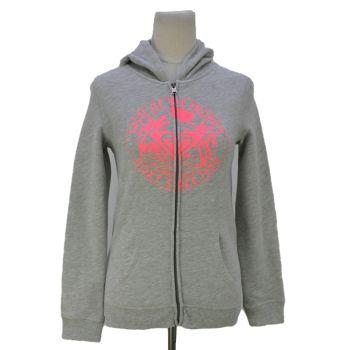Girls Roxy Printed Full Zip Hoodie Jacket