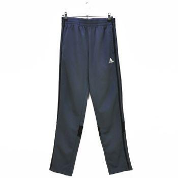 Boys Gray Black Striped Track Pants