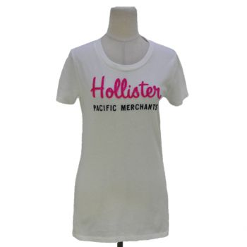 Girls Hollister Round Neck T-Shirt