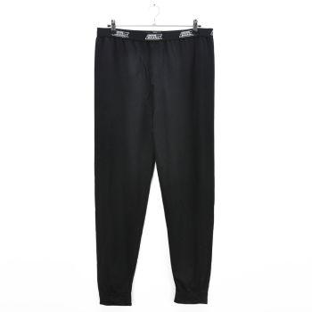 Mens Black Cuff Training Pants