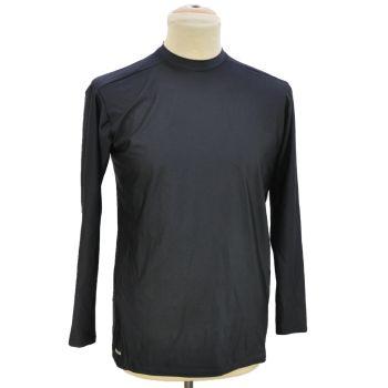 Mens Black Sports Long Sleeve T-Shirt