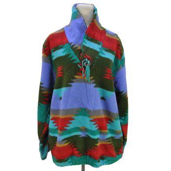 Little Big Horn Shirt Co. 90'S Vintage Native Chimayo Fleece Jacket