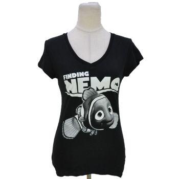 Youth Girls Black Finding Nemo Graphic T-Shirt