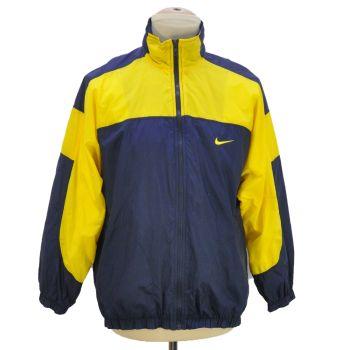 Vintage Nike Embroidered & Back Print Full Zip Windbreaker Jacket