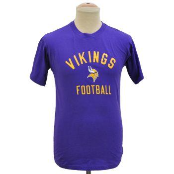 Boys NFL Vikings Football Crewneck T-Shirt