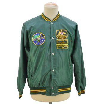 Vintage 4th World Blind Bowls Championship Zimbabwe Bomber Jacket