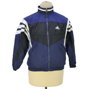 Vintage Adidas Embroidered Full Zip Windbreaker Jacket