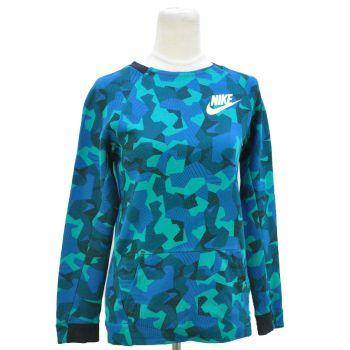 Girls Nike Print Multi Color Sweatshirt