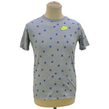 Boys Nike All Over Print Crewneck T-Shirt
