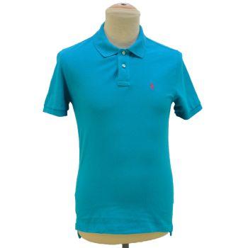 Boys Custom Fit Polo Collar T-Shirt