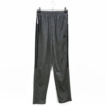 Boys Black Striped Gray Track Pants