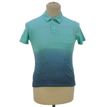 Boys Ombre Pocket Collar T-Shirt