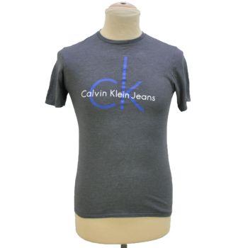 Boys CK Gray Crewneck T-Shirt
