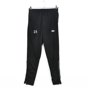 Boys Black Slim Fit Training Pants