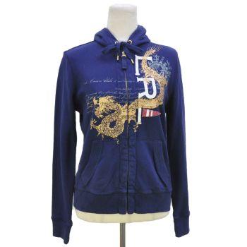 Ladies Ralph Lauren Full Zip Hooded Jacket