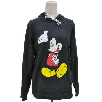 Ladies Printed Mickey Pullover Hoodie
