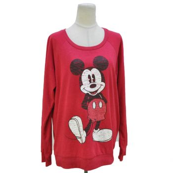 Ladies Mickey Mouse Graphic Sweatshirt